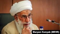 Ayatollah Ahmad Jannati, the head of Iran's assembly of experts.(file photo)