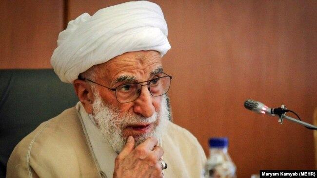 Ajatolah Ahmad Džanati, šef iranske Skupštine eksperata. (arhivska fotografija)