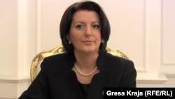 Президент Косово Атифете Яхьяга