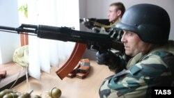 Стрельба на востоке Украины не прекращается