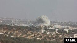 Zračni napadi, Sirija