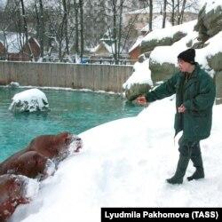 Московский зоопарк зимой