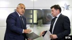 Бойко Борисов и Венцислав Върбанов.