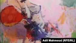 من لوحة للفنانة أنوار الماشطة