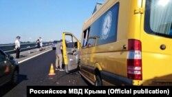 ДТП на трассе «Таврида» в Крыму 31 июля 2020 года