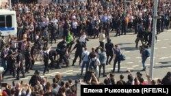 Москва, Пушкинская площадь, 5 мая 2018