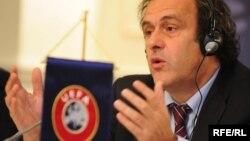Президент УЕФА Мишель Платини.