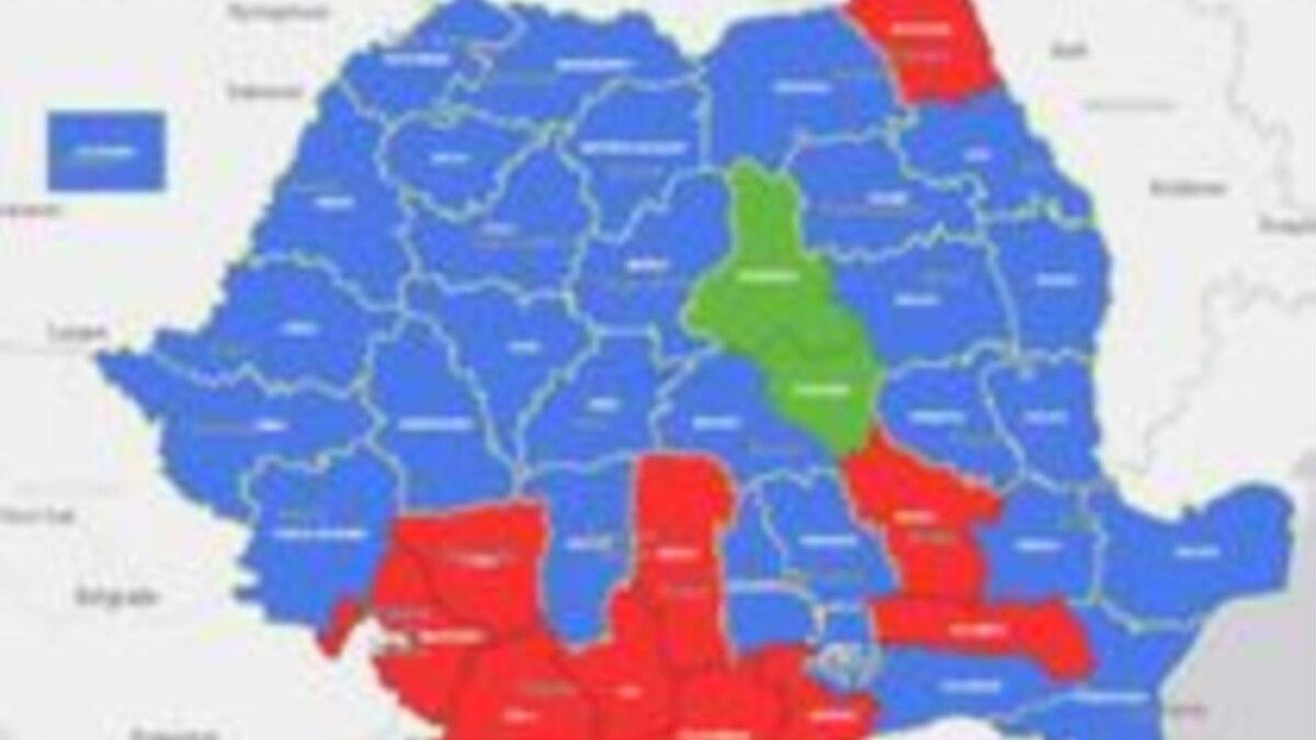 Hotnews Harta Interactivă A Primului Tur A Alegerilor Prezidențiale