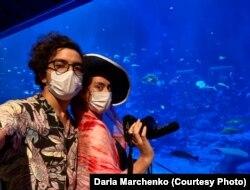 Дарія і Едуардо в Сингапурі