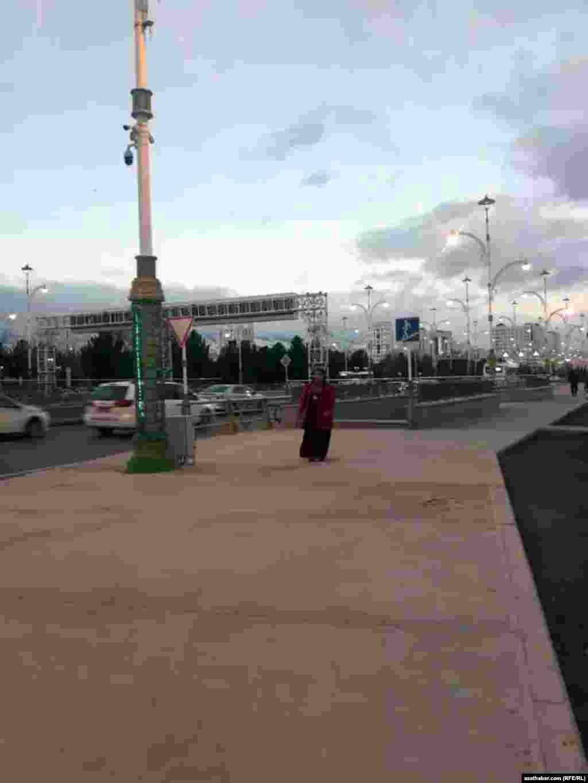Центральная улица Ашхабада