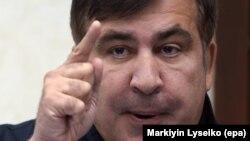 Михаил Саакашвили, Одесса облысының бұрынғы губернаторы және Грузияның бұрынғы президенті. Львов, 12 қыркүйек 2017 жыл.