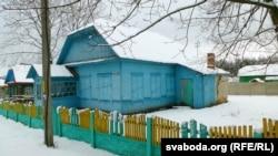 Будынак у Глýшы, у якім месьціцца музэй Алеся Адамовіча