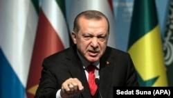 Турскиот претседател Реџеп Тајип Ердоган