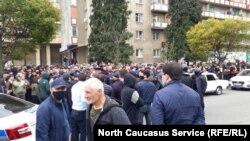 Митинг в поддержку Вадима Чельдиева