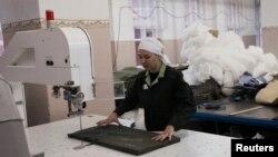 Швейный цех в одной из российских колоний