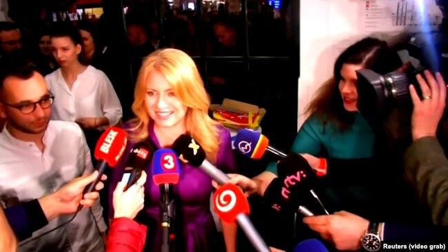 """Zuzana Čaputova našla se na meti napada """"alternativnih medija"""", ali je pobedila na predsedničkim izborima u Slovačkoj u martu ove godine"""