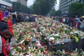 Берген, 25 июля 2011 года. День национального траура