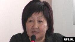 Ведущая кыргызская правозащитница Толейкан Исмаилова.