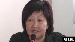 Kyrgyz rights activist Tolekan Ismailova