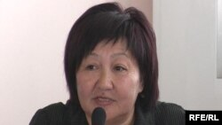 Kyrgyz right activist Tolekan Ismailova