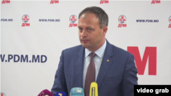 """After 26 years Moldova still has an occupied territory,"" the country's speaker, Andrian Candu, said. ""The same reality is faced by Georgia and Ukraine."" (file photo)"