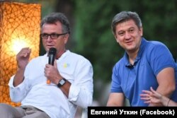 Фестиваль Bouquet Kyiv Stage 2019, Олександр Данилюк (праворуч) та Євген Уткін