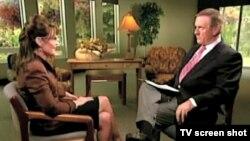 سِارا پی لين برای نخستين باربا شبکه ABC مصاحبه کرد.