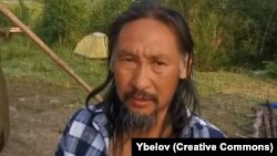 Şaman Aleksandr Gabyshev