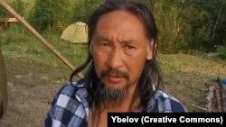Якутський шаман Олександр Габишев, який прямував до Кремля, «виганяти Путіна»