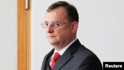 Чехия премьер-министрі Петр Нечас. Прага, 13 маусым 2013 жыл.