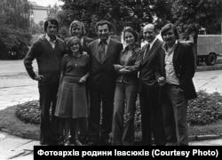 Володимир Івасюк, Софія Ротару, Любомир Криса та друзі композитора