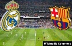 """El Classico, матч между мадридским """"Реалом"""" и """"Барселоной"""" - самое напряженное и принципиальное противостояние в испанском футболе"""