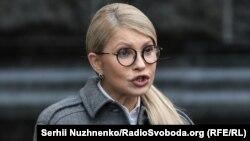 Лідер партії «Батьківщина» Юлія Тимошенко стала кандидатом у президенти