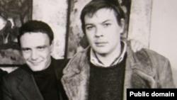 Слева направо: Владимир Буковский и Вадим Делоне
