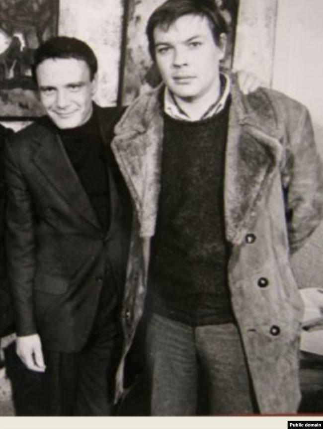 Владимир Буковский (слева) и Вадим Делоне