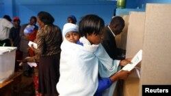 Zgjedhjet presidenciale në Kenia, 4 mars 2013.