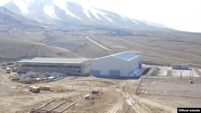 The Jerui gold mine in Kyrgyzstan's Talas region