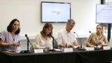 """Učesnici """"Debate o politikama i praksama sećanja"""" u organizaciji Inicijative za REKOM"""