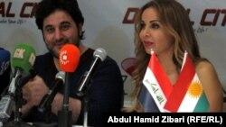 ملحم زين و رولا سعد في اربيل
