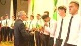 Türkmen studentleri. Arhiw suraty