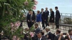 Лідери країн «Групи семи» прибули на саміт до Сицилії (відео)