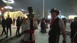 В Душанбе впервые организовали новогодний базар