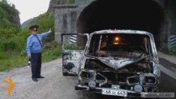 Թունելում մեքենա է այրվել. տուժածներ չկան