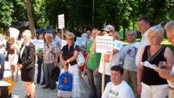 «Київське віче» вимагає відставки уряду і Попова