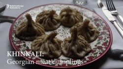 Cooking Khinkali: Georgian Meat Dumplings