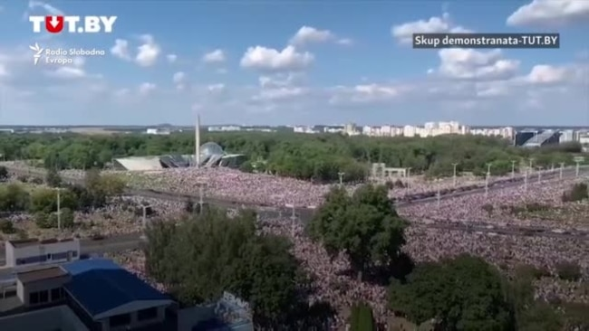 Demonstranti u Minsku traže ostavku predsjednika Lukašenka