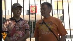 "Протест после аварии ракеты ""Протон-М"""