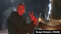 Алексей Навальныйды кармоо учуру. 2021-жылдын 17-январы.