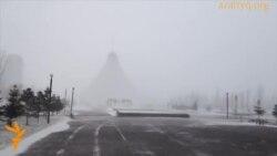 Астанадағы боран