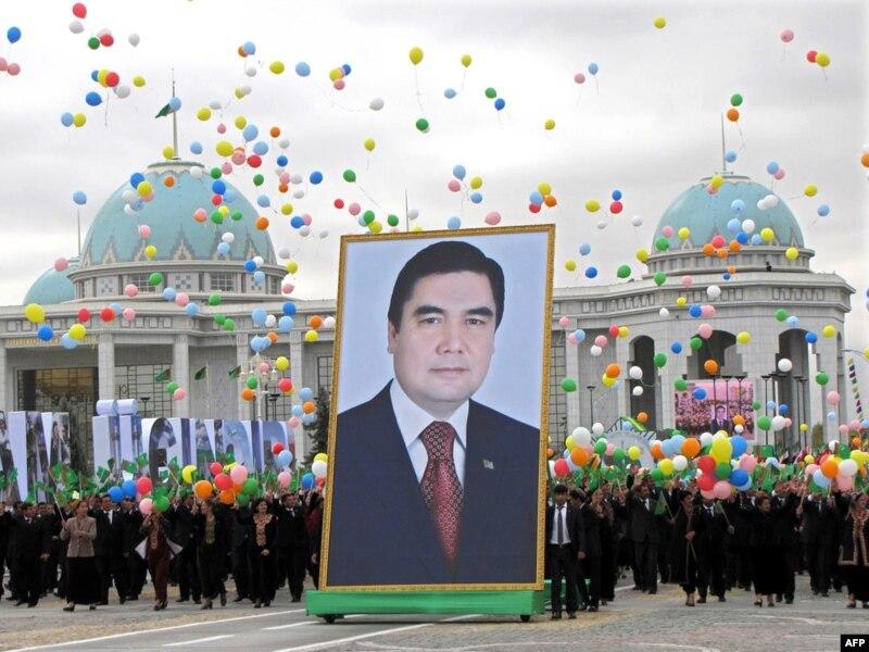 Российские и Туркменские депутаты братья на век!
